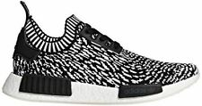 adidas Originals Men's NMD_R1 PK Sneaker, Black/Black/White, 13 M US