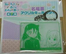 No Matter How I... Watamote Exhibition Event Item Acryl Key Chain Motoko & Nemo