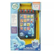 LeapFrog BLUE'S CLUES & YOU! Electronic REALLY SMART HANDY DANDY NOTEBOOK (New)!