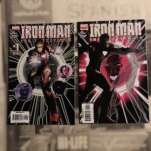 Iron-Man Inevitable Comic 1 & 4 1st Print Joe Casey Frazier Irving Marvel Inv#8