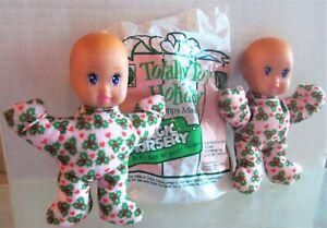 McDonalds MAGIC NURSERY BABY Babies BOY & 2 GIRLS, Boy in Bag 1993, Happy Meal