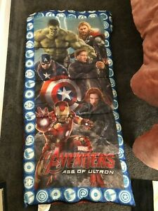 Marvel Age of Ultron Super Hero  Child Sleeping Bag 28X56