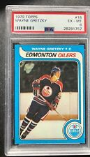 1979-80 Topps Wayne Gretzky PSA 6 EX-MT NO QUAL  Rookie Card RC # 18 Vending
