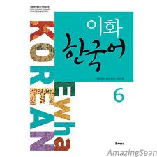 Ewha Korean 6 With CD Korean Language Book Korean Textbook Conversation BO67