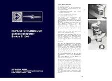Neues AngebotReparaturhandbuch Werkstattbuch Barkas B1000 B 1000 NVA W50 L60 Anleitung