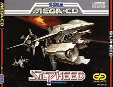 ## SEGA Mega-CD - Silpheed - NEUWERTIG / MINT - mit Spinecard ##