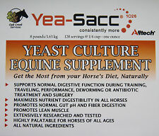 Horse DiGeSTioN PRoBioTiC Nutrition Supplement Yea-Sacc LiVe YEAST 8 POUNDS