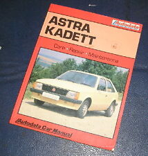 VAUXHALL/OPEL ASTRA/KADETT PETROL AUTODATA WORKSHOP MANUAL  294