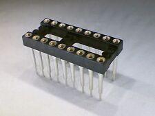 Mill-Max 18 Position 2.54mm Open Frame Solder Tail Socket