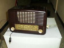 RADIO BAQUELITA INVICTA OM- CORTA 1 -CORTA 2 125V SIN TAPA TRASERA