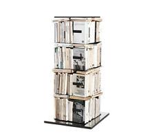 OPINION CIATTI libreria PTOLOMEO PTX4-B nera con base inox 110cm 140 libri