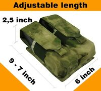 Pouch Case atacs fg molle pals tactical mag PAINTBALL airsoft bag waterproof