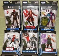 Marvel Legends CAPTAIN AMERICA SET ABOMINATION BAF SKULL SCARLET WITCH BRITAIN