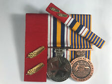 2 Commendation for Brave Conduct, National PoliceService Medals, National Medal