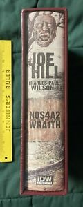 NOS4A2/WRAITH IDW SIGNED BY JOE HILL & ARTIST NUMBERED SEALED SLIPCASED SOLD OUT