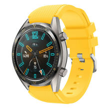 22mm Two Piece Sport Silicone Bracelet Band Strap Wristband For HUAWEI WATCH GT