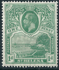 St Helena Ships, Boats Stamps