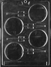 PLAIN LOLLY Sucker Chocolate Candy Mold LOP-M011