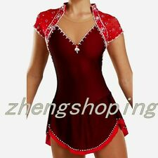 Ice Skating Dress Competition / Figure Skating Dress for women Customization8810