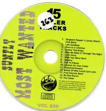 Sunfly Most Wanted 866 15 Massive Hits CDG Karaoke SMW866