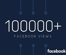 100k+ Facebook Video View Best on eBay only for 45$!!! | seoguide (SALE)