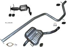 FORD MONDEO 1.8TDCi 07-12 Exhaust Complete System Cat, Centre & Rear Box No DPF