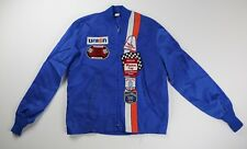 Nascar VINTAGE 1970's Nylon Patches Jacket Small Dayton Winston Talladega