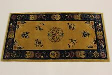 ANTIGUO Pekín 1900 reimpot EE.UU. Alfombra Persa Alfombra Oriental 1,77 x 0,91