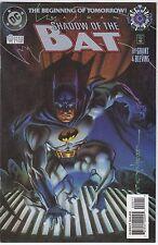 fumetto DC BATMAN SHADOW OF THE BAT AMERICANO NUMERO 0