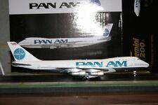 Gemini Jets 1:200 Pan Am American Boeing 747-100 N741PA (G2PAA619) Model Plane