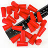 "(100) 3/8"" x 9/16"" High Temp Silicone Rubber Powder Coating Plugs Cerakote Paint"