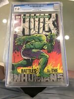 INCREDIBLE HULK ANNUAL 1 !! CGC 7.0 RARE HigH GRADE !! OW/W PAGES !!
