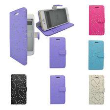 Apple Plain Leather Mobile Phone Wallet Cases