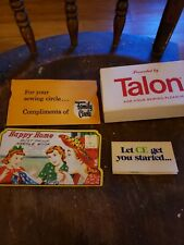 Vintage Needke Kit Happy Home & Talon Thread