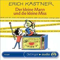 ERICH KÄSTNER - DER KLEINE MANN UND DIE KLEINE MISS  CD NEW