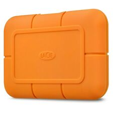 LaCie Rugged SSD 1TB Mobile External Solid State Drive in Orange - USB3.1