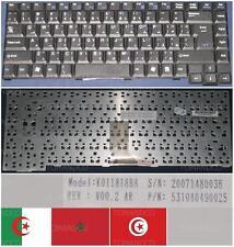 CLAVIER QWERTY ARABE Packard Bell E1245 E1260 E1280 E1510 E1, K011818B8 Noir