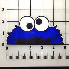 "JDM Drift Cookie Monster 5"" Wide Multi-Color VInyl Decal Sticker - BOGO"