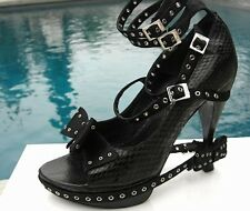 Christian Dior Runway Python Platform Shoes owned by Kim Stewart 38