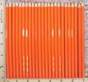 Lot of 24 Crayola Orange Colored Coloring Pencils New Unused