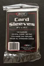 BCW Standard Card Sleeves – Quantity 200