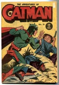 Catman #20- Australian comic- Electronic Monster VG/F