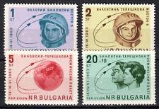 Bulgaria - 1963 Group flight Wostok 5 & 6 / Space - Mi. 1394-97 MNH