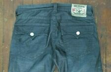 Authentic True Religion Mens Jeans Ricky Brown Micro Corduroy Pants 34x34 33 36