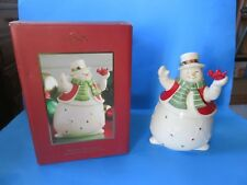 "Lenox ""Merry Musicals Snowman Music Box�"