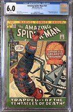The Amazing Spider-Man 107 CGC 6.0 WP Diamonds Sales Insert Marvel Comics 1972