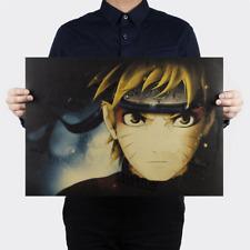 Japan Anime Naruto Uzumaki Naruto Wall Poster Wall Decals Kraft Paper Poster hom