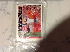 1994 Upper Deck World Cup Minute Maid #24 Dennis Bergkamp - in hang tag pouch