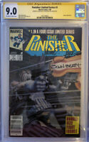 PUNISHER #1 SS CGC 9.0 NEWSSTAND LIMITED SERIES SIGNED BY ZECK & BEATTY