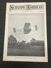 Wilbur Wright - Wright Brothers - Aviation - 1908 Scientific American Magazine